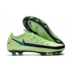 Nike Nuevo 2021 Phantom GT Elite FG Verde Azul Negro