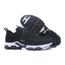 Nike Air Max 97 Plus de Hombres - Negro Blanco