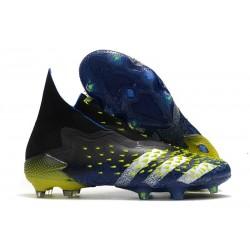 Zapatillas adidas Predator Freak+ FG Azul Negro Blanco Amarillo Solar