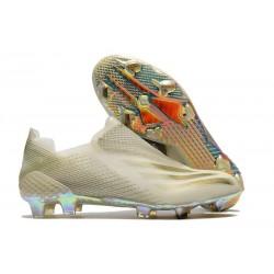 Botas de Futbol adidas X Ghosted+ FG Blanco Oro