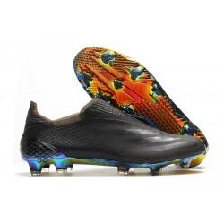 Botas de Futbol adidas X Ghosted+ FG Negro Azul