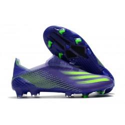 Botas de Futbol adidas X Ghosted+ FG Tinta Energía Verde