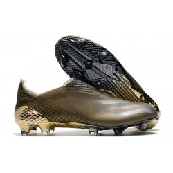 Botas de Futbol adidas X Ghosted+ FG Camel
