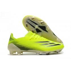 Zapatos adidas X Ghosted.1 FG Amarillo Solar Negro Azul Royal