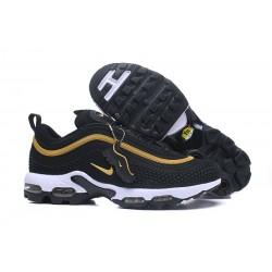 Nike Air Max 97 Plus de Hombres - Negro Oro