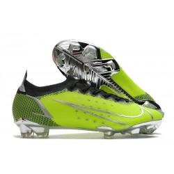Bota Nike Mercurial Vapor XIV Elite FG Verde Negro Plata