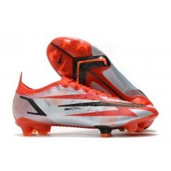 Nike Mercurial Vapor 14 Elite FG Chile Rojo Negro Blanco Naranja