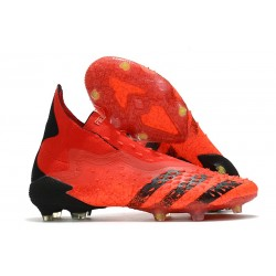 Zapatillas adidas Predator Freak+ FG Rojo Negro Rojo Solar