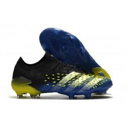 adidas Predator Freak.1 Low FG Azul Negro Blanco Amarillo Solar