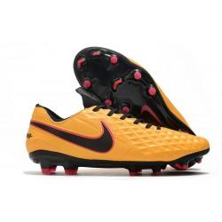 Nike Zapatos de Fútbol Tiempo Legend 8 Elite FG Naranja Negro