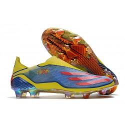 Botas de Futbol adidas X Ghosted+ FG X-Men Azul Rojo Amarillo Fluor