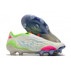 Zapatos de Fútbol adidas Copa Sense+ FG Blanco Amarillo Rosa