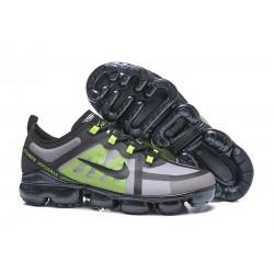 Zapatillas Nike Air VaporMax 2019 Para Hombres - Negro Verde