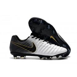 Bota de fútbol Nike Tiempo Legend 7 Elite FG - Negro Blanco