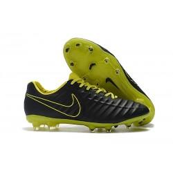 Bota de fútbol Nike Tiempo Legend 7 Elite FG - Negro Amarillo