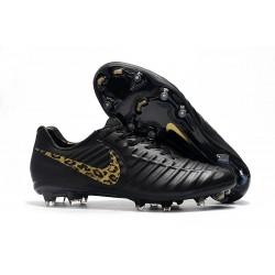 Bota de fútbol Nike Tiempo Legend 7 Elite FG - Negro Oro