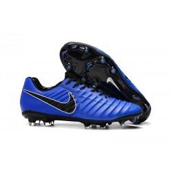 Bota de fútbol Nike Tiempo Legend 7 Elite FG - Azul Negro